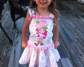 2pc Strawberry Shortcake outfit Strawberry shortcake birthday