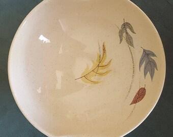 Vintage Franciscan Autumn Leaves Lug-Handled Bowl