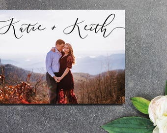 PRINTABLE Save the Date - Postcard