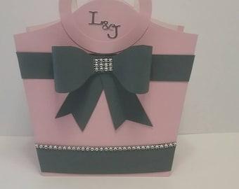 Paper purse, paper handbag ,paper gift bag
