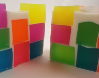 Made To Order Color Block Soap