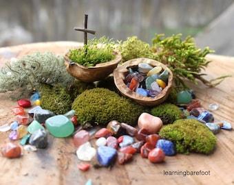 Walnut of gemstones