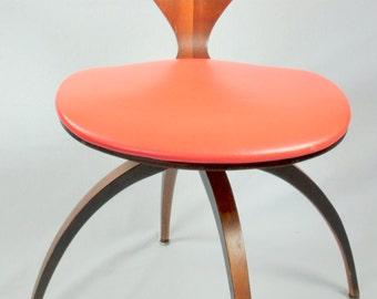 norman cherner for plycraft pretzel chair