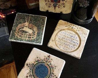 Medieval Trivet Tile