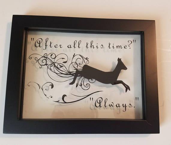 Harry Potter Frames Art Always