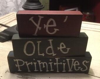 Primitive Shelf Sitters