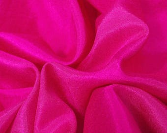 Magenta High Sheen Fabric - 44 Inches Wide