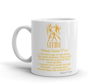 Gemini Star Sign Mug