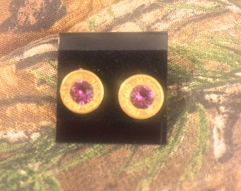 Bullet Earrings /  9mm post earrings