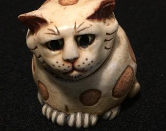 Harmony Kingdom Pot Belly  Cat