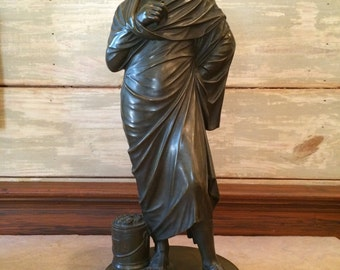 Aristotle bronze statue
