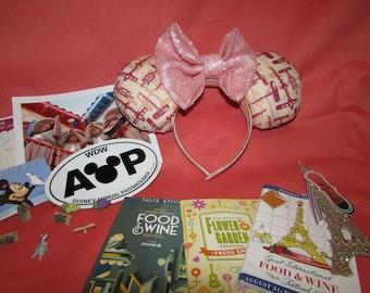 Food and Wine Mouse Ears / Headband