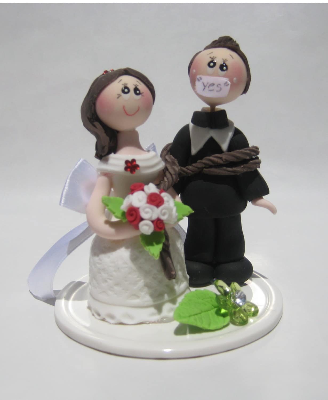 Wedding cake topper funny wedding cake topper cake topper zoom junglespirit Images