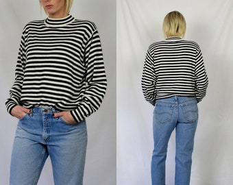 Vintage 90's Striped Sweater