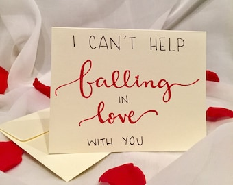Falling In Love Card