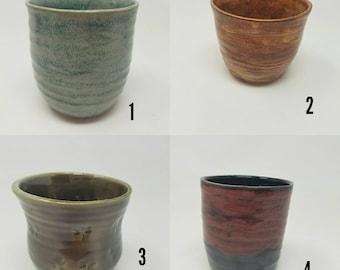 Handmade succulent planters, stoneware, cactus planter, planter, flower pot, tumbler FREE SHIPPING