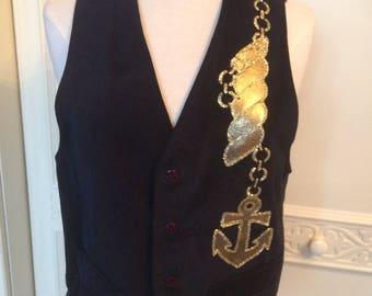 Vintage Anchor waist coat