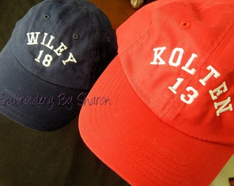 Personalized All Ages baseball cap
