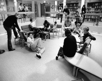 The Breakfast Club - Behind The Scenes - Photo - John Hughes - Molly Ringwald - Judd Nelson - Emilio Estevez - Ally Sheedy - Photography