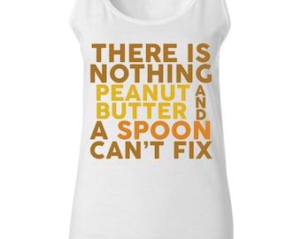 Peanut Butter Shirt - Peanut Butter Gift - Workout Tank - PB and J - Funny Shirt - Fitness Tank - Peanut Butter Tank - Gym Shirt