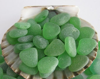 Bulk Green Beach Sea Glass, Beach Jewelry Supply, Art Supply, Bulk sea Glass