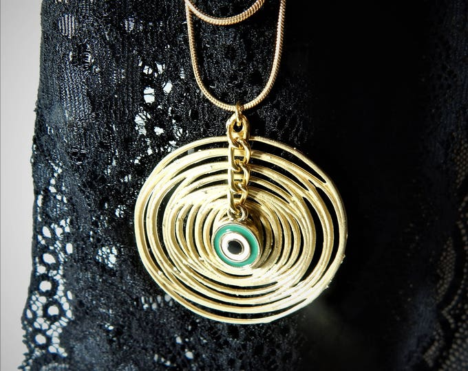 spiral pendant necklace, gold spiral, gold  jewelry, etsy jewelry, sterling silver necklace, women necklaces, silver necklaces
