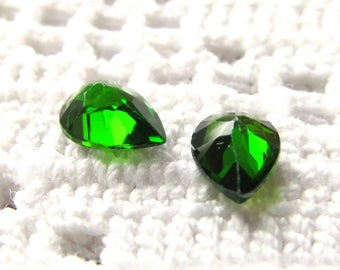 7x5mm Chrome Diopside Pear-shaped Loose Gemstones