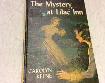 Vintage 1961 Nancy Drew Mystery at Lilac Inn.