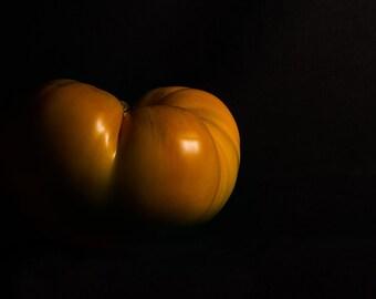 Photograph, Orange Heirloom Tomato