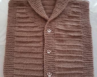 Young Knitting Vest