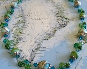 Beaded Necklace (Arctic Circle)