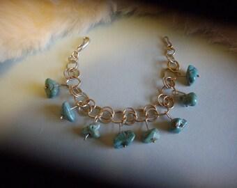 Turquoise Silver Bracelet