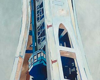 Space Needle - Giclee Print