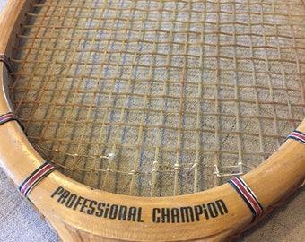 Professional Champion Tennis Racket, Racquet, Firestone, Unique