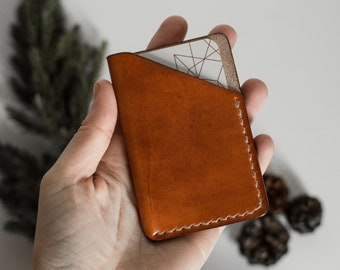 Leather cardholder, Leather cardwallet, minimalist wallet, leather wallet, slim wallet