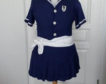 High school girl uniform (St Trinians inspired)