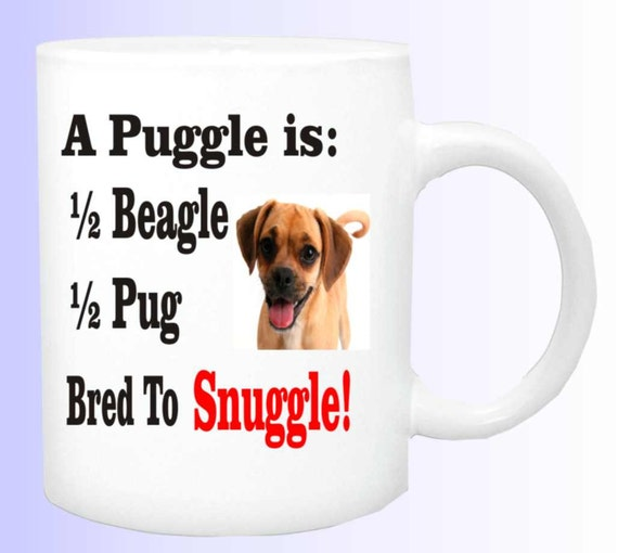 puggle coffee cup 140 ,puggle dog mug, funny coffee mug, dog lovers cup, ceramic coffee cup, funny coffee cup, funny doggie cup