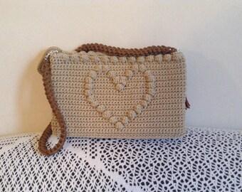 Crochet bag, Bags, Luxury bag, Crochet handbags, Handmade crochet,  Shoulder bag, Made in Greece