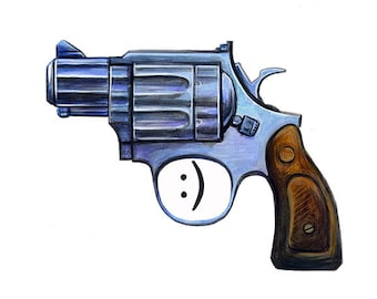 Am I Carrying A Gun Yes or I'm Stupid Pro-Gun Funny Hilarious Gun Control concealed carry open carry