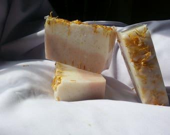 Handmade Soap - Grapefruit Appricot Scrub