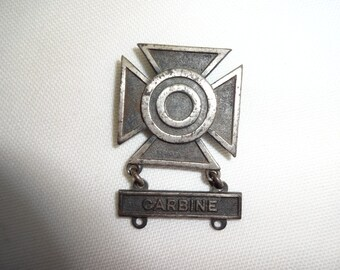 Carbine Military Pin Sterling