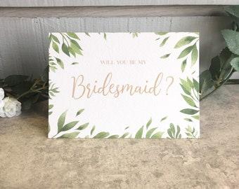 Bridesmaid Card - Tropical Love