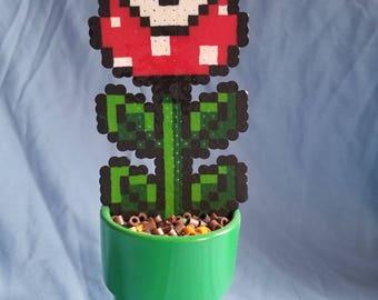 Pixel Piranha Plant Figurine