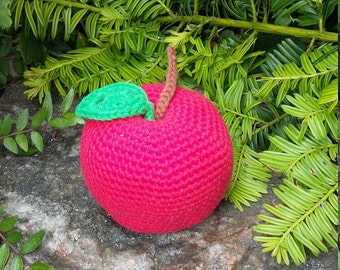 Mother's Day Gift, Gift for Mum, Pincushion, Amigurumi Apple, Apple Pincushion, Novelty pincushion, Needlework Accessory, Pin Cushion,