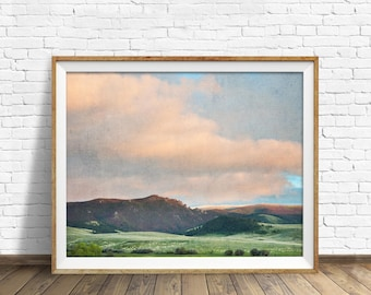 "photography, landscape, instant download art, printable art, photography, instant download, farmhouse chic, nature, art - ""Springtime Skies"""