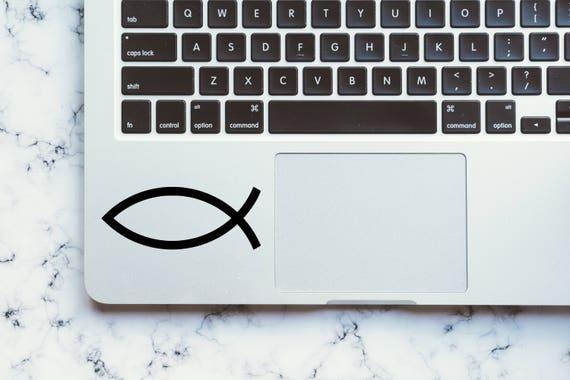 Vinyl Decal Christian Fish Symbol Fish Symbol Decal Bible