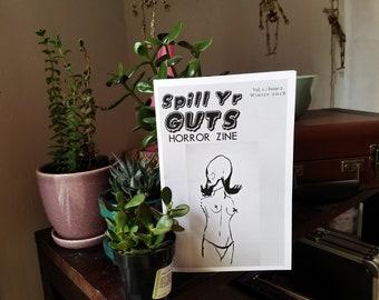 Spill Yr Guts Horror Zine 002   Winter 2018