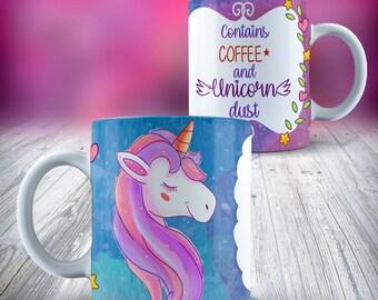 Unicorn 11oz Ceramic Mug