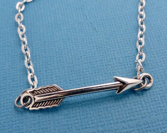 Black Widow's Arrow Necklace