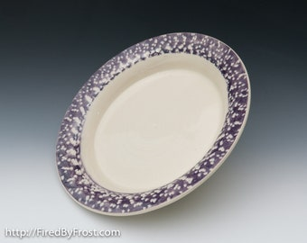 Handmade Ceramic, Pottery, Serving Dish - Ready to Ship - Perfect for Serving Pasta, Noodles, Salad, and more
